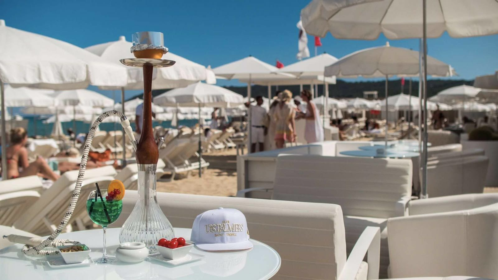 Club Les Palmiers St Tropez Beach Club Hookah Heaven